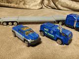 Автовоз и 2 машины спецназа (swat)